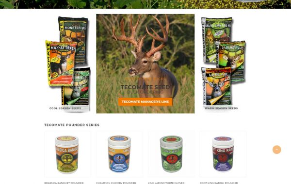 Tecomate Seed Website Design and Development